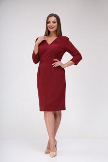 платье Vilena 658 винный