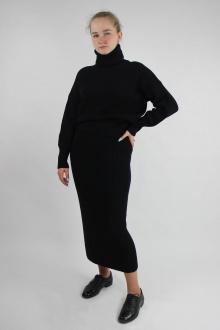 джемпер,  юбка Полесье С0120-20 0С2145-Д43 158,164 глубокий_черный