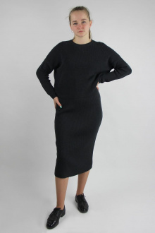 джемпер,  юбка Полесье С0134-20 1С1020-Д43 158,164 серый_меланж