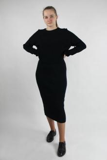 джемпер,  юбка Полесье С0134-20 1С1020-Д43 170,176 черный_антрацит