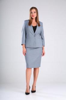 жакет,  юбка MALI 721-084 голубой