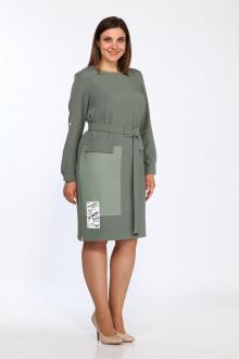 платье Lady Style Classic 2304 хаки