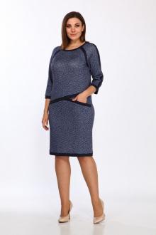 платье Lady Style Classic 1738 синий
