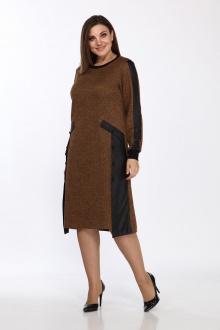 Lady Style Classic 1733 коричневый-черный