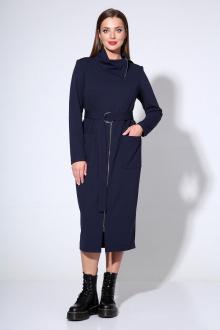 платье Liona Style 670 темно-синий