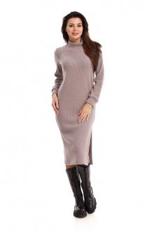 платье IUKONA 5004 серо-коричневый