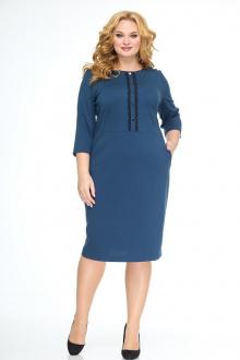 платье Anelli 552 лазурь