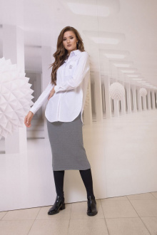юбка Condra 12075 св.серый