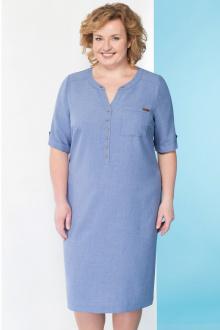 платье Линия Л Б-1644 оттенки голубого