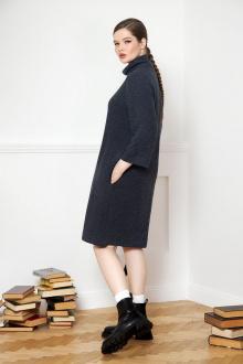 платье VIZANTI 9313 темно-серый