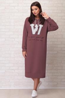 платье Aira Style 867 слива