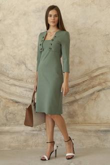 платье ARTiMODA 321-11 оливковый