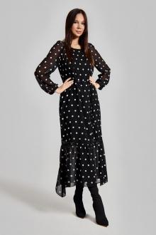 платье FOXY FOX 1310 черный_розовый
