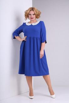 платье SOVITA M-2132 василек
