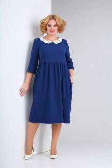 платье SOVITA M-2132 синий
