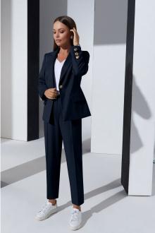 блуза,  брюки,  жакет Lissana 4328 темно-синий
