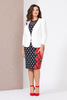 жакет,  платье Mira Fashion 5010