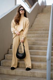 брюки Rawwwr clothing 298-начес бежевый