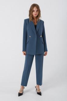 брюки,  жакет PiRS 906 холодный_голубой
