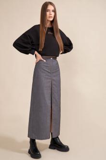 свитшот,  юбка Rivoli 3072+4018