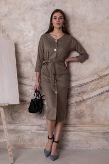 платье ARTiMODA 321-03 серо-бежевый