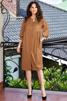 платье Teffi Style L-1580 золотой