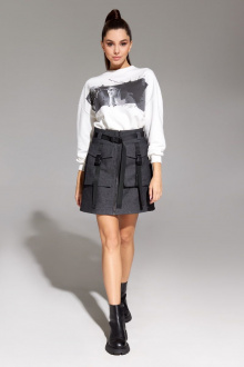 джемпер,  юбка Allure 1013А