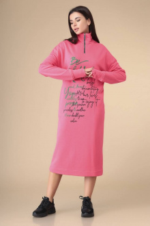 платье Romanovich Style 1-2205 розовый