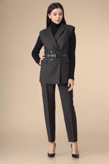 брюки,  джемпер,  жилет Romanovich Style 3-2224 черный