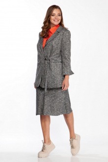 жакет,  юбка Belinga 2204 серый