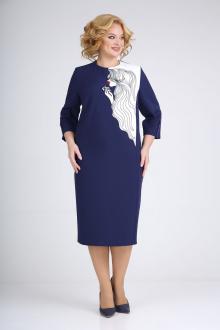 платье Ивелта плюс 1775 синий