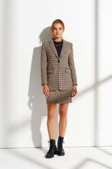 жакет,  юбка Prestige 4302/170 коричневый