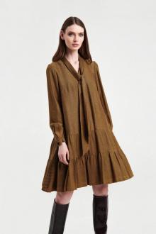 платье AG Green G439/1 горчица