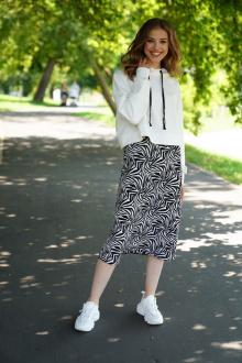 юбка Prestige 3938/170 черно-белый