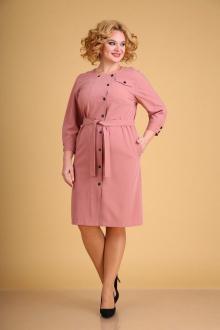 платье Ксения Стиль 1942 пудра