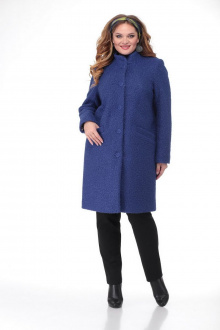 пальто БелЭльСтиль 786 синий