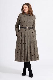 платье Милора-стиль 940 коричневый