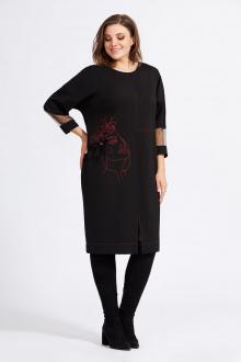 Милора-стиль 942 черный+красный