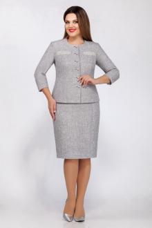 жакет,  юбка LaKona 1165 серый