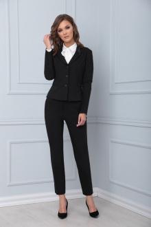 брюки,  жакет LadisLine 1407 черный