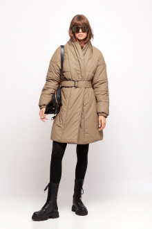 пальто Favorini 31786 бежевый