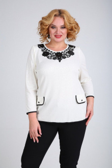 блуза SOVITA M-109 белый