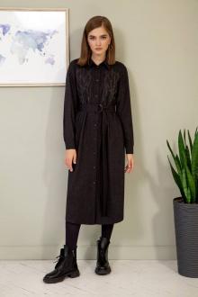 платье Olegran 3809 графит