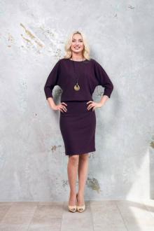 платье Nalina 4274 ежевика
