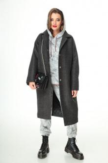 брюки,  пальто, худи T&N 7108 графит_серый-мрамор
