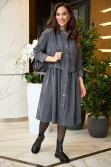 платье Anastasiya Mak 938 серый