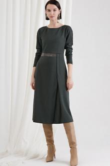 платье Moveri by Larisa Balunova 5044D олива