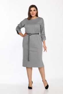 платье Lady Style Classic 2453 серый