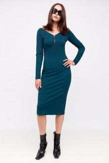 платье Favorini 11938 морская_волна
