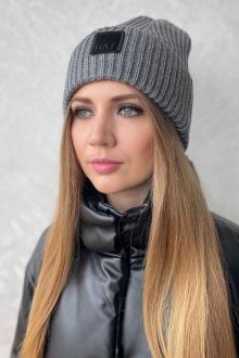 шапка Favorini 31080 серый